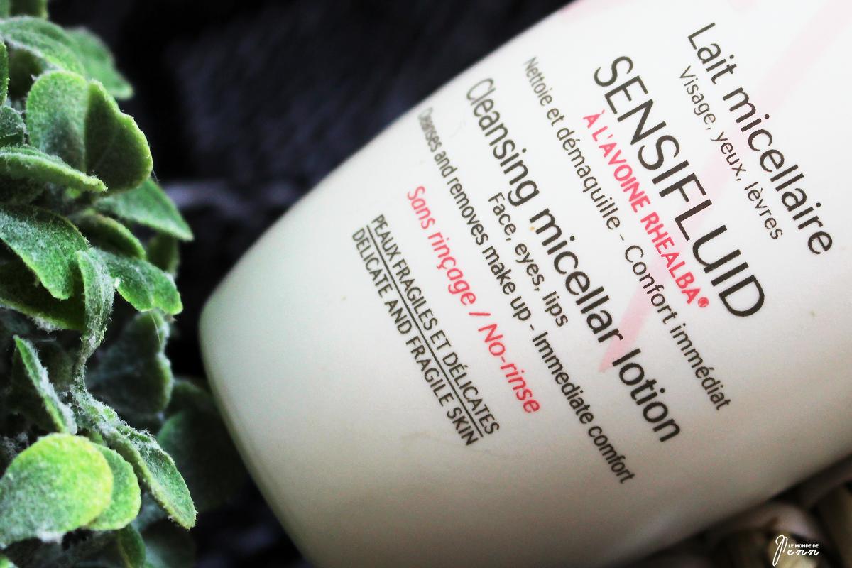 Sensifluid, le lait micellaire à la formulation propre, est-il efficace ?