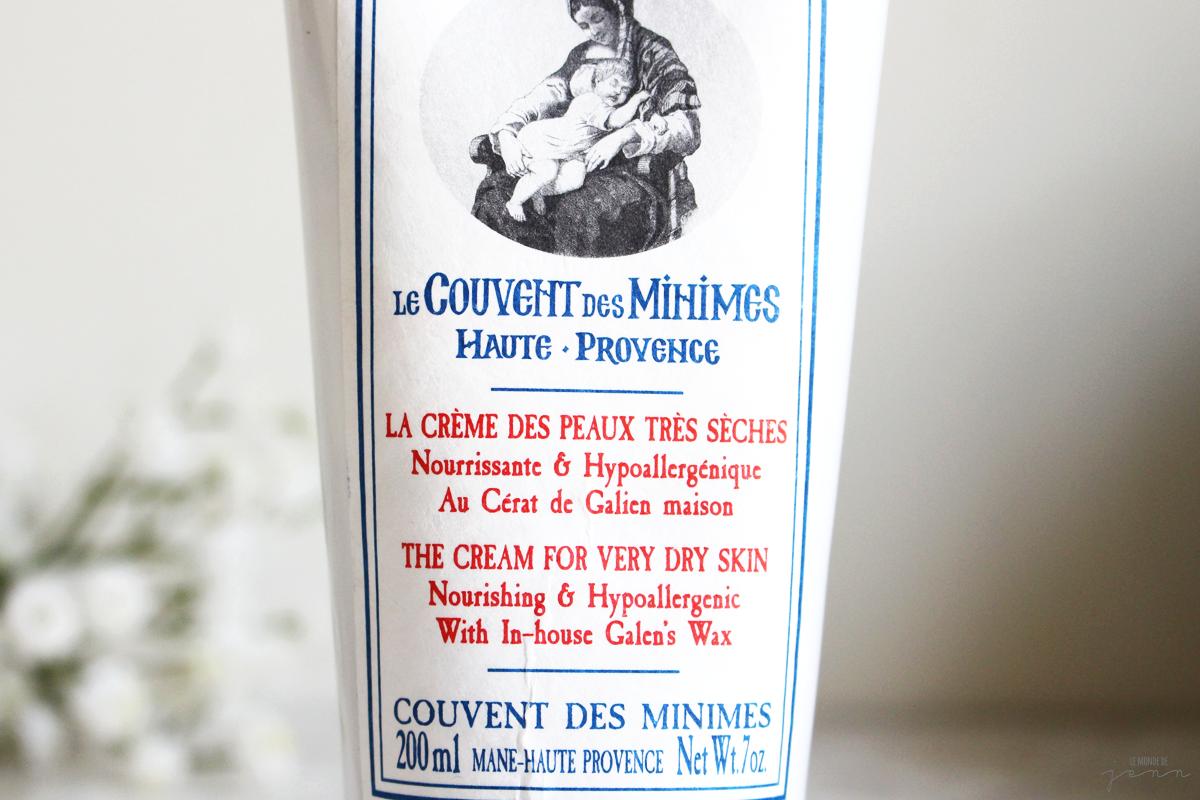 Baume d'amour (Le couvent des Minimes) : La Crème des Peaux Très Sèches ?