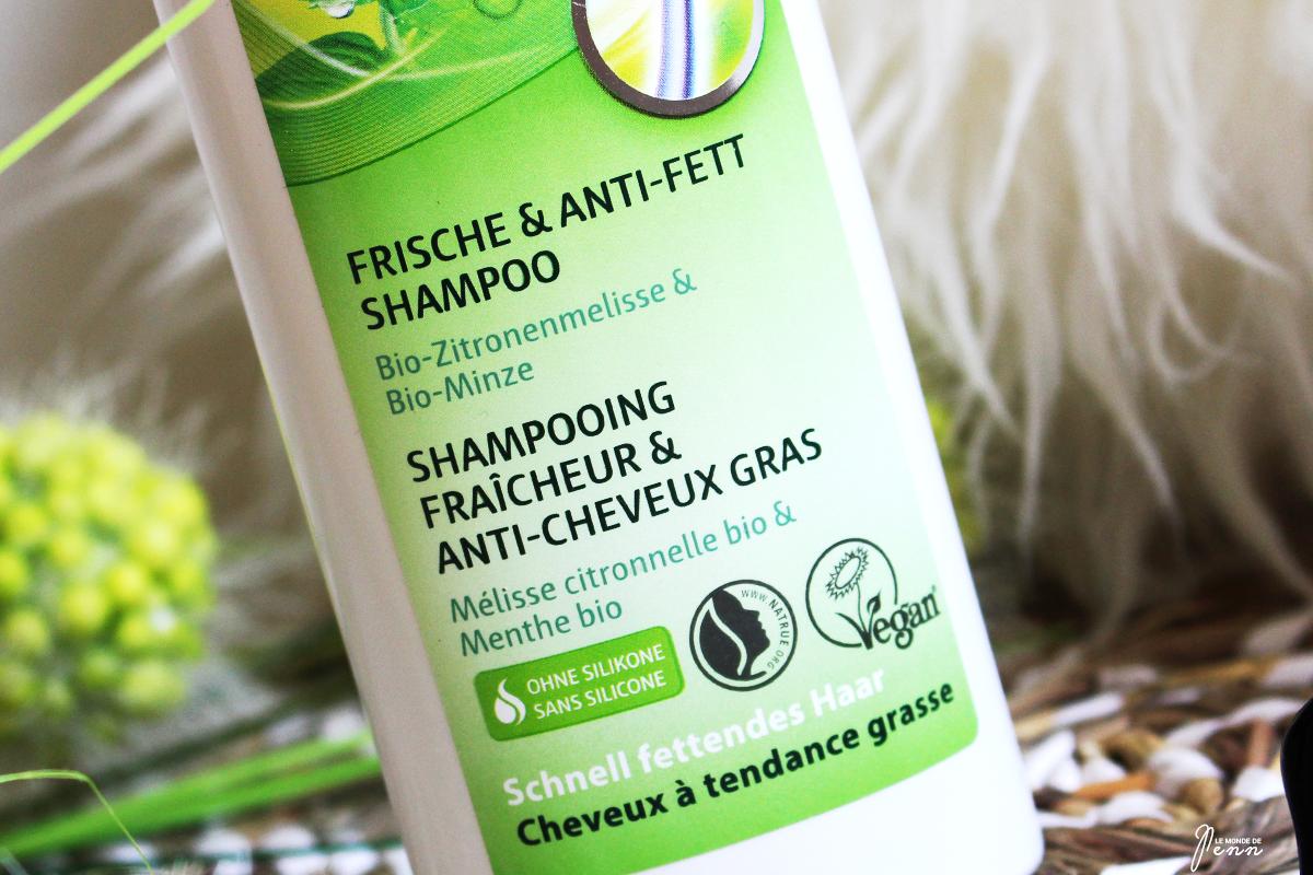Retour à ma routine capillaire bio avec le Shampoing fraîcheur et anti-cheveux gras de Lavera