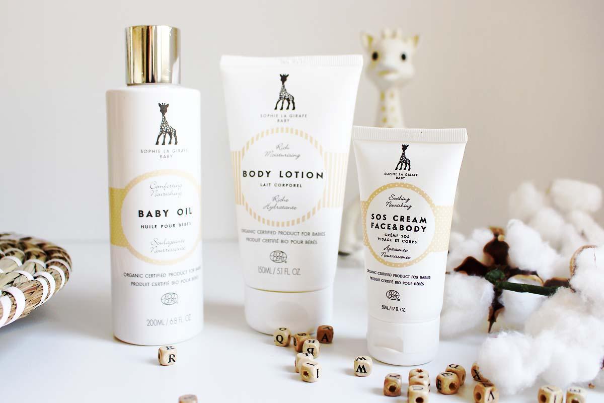 Sophie, ce n'est pas qu'une Girafe : à la découverte de Sophie la Girafe Baby Cosmetics