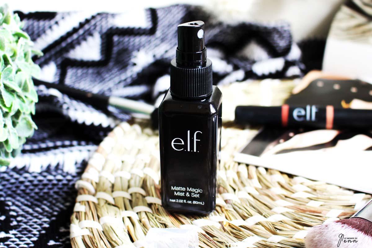 Le Spray Fixant Mat de ELF : votre allié pour cet été ?