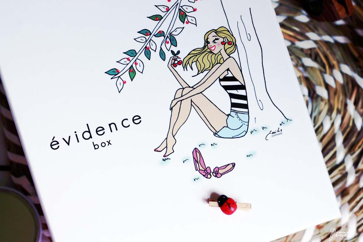 la Box Evidence de Juin annonce l'arrivée de l'été