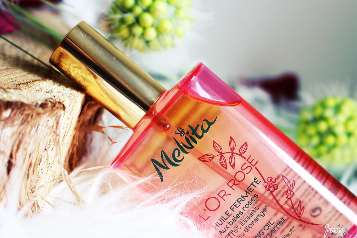 J'ai enfin trouvé une huile fermeté efficace, j'ai nommé l'Or Rose de Melvita