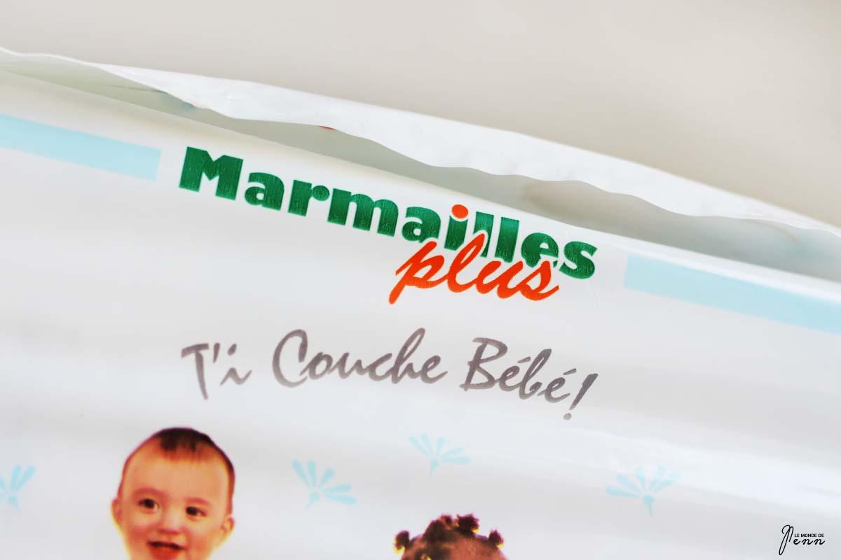 Mon bébé a testé les couches Marmailles Plus