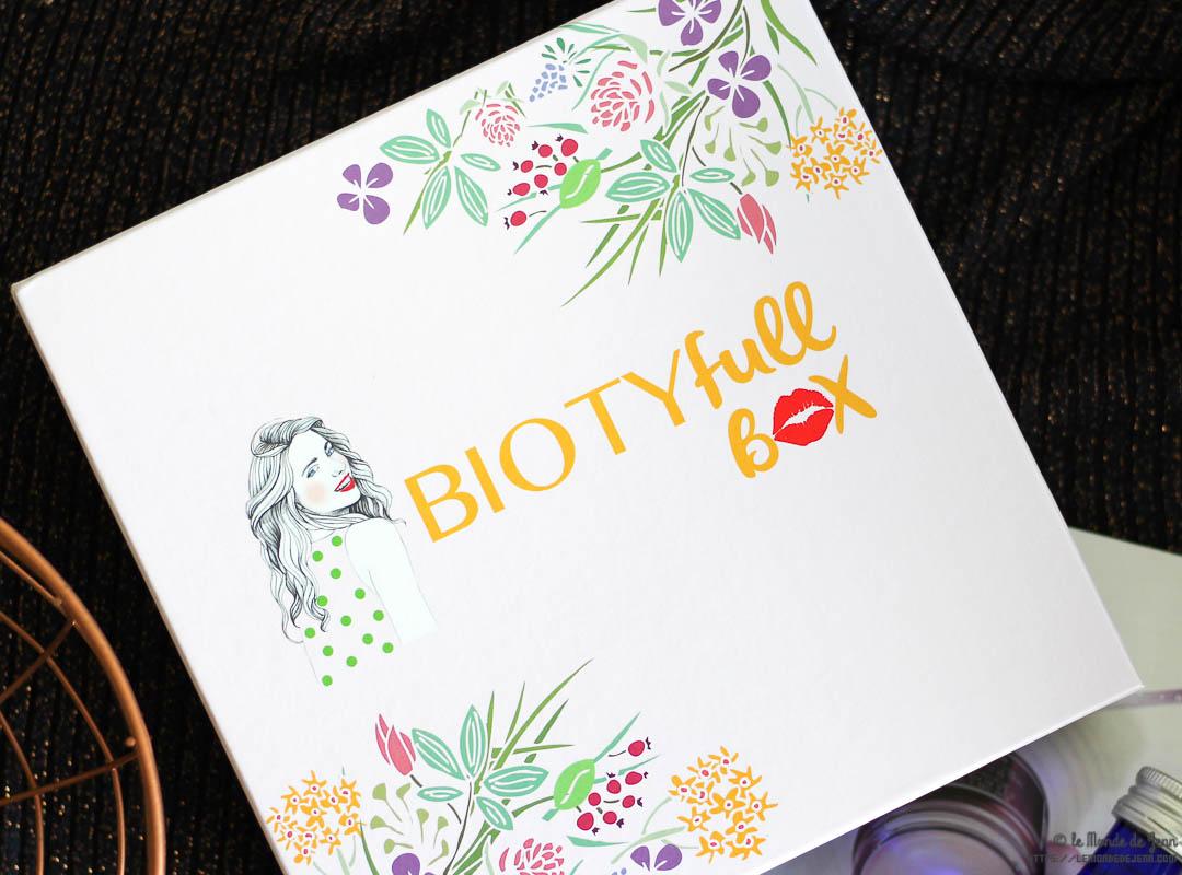 BIOtyfull Box de Septembre : belle surprise