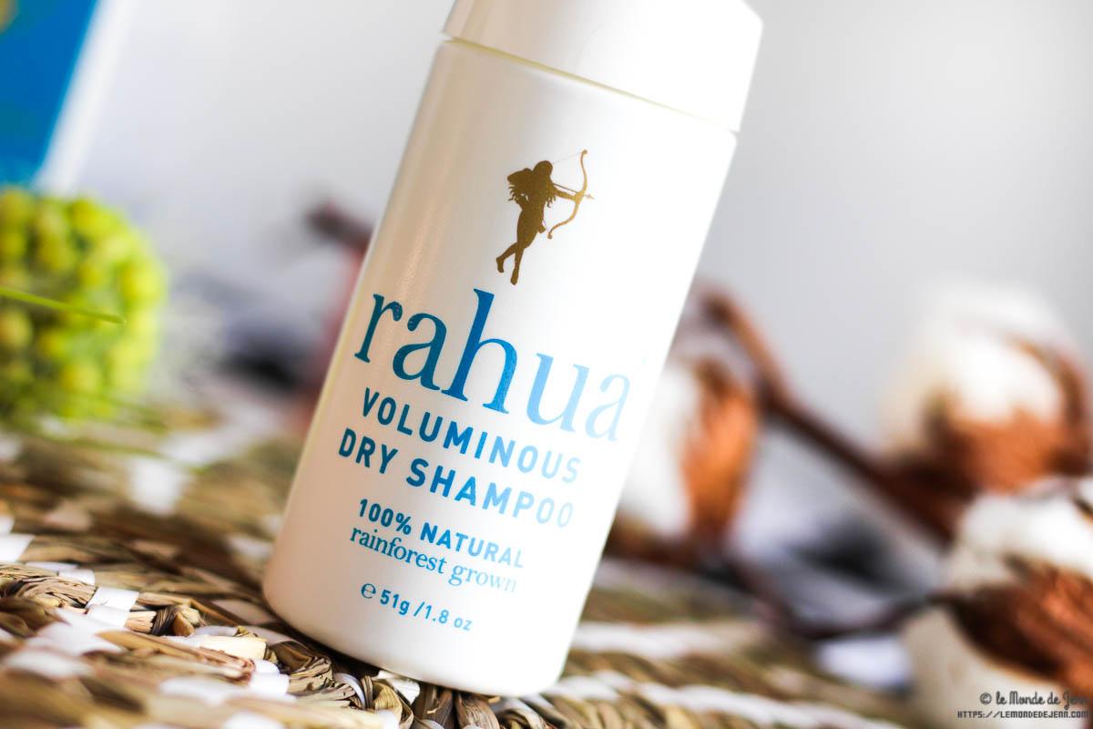 Rahua m'a réconcilié avec les shampoings secs et produits capillaires bio