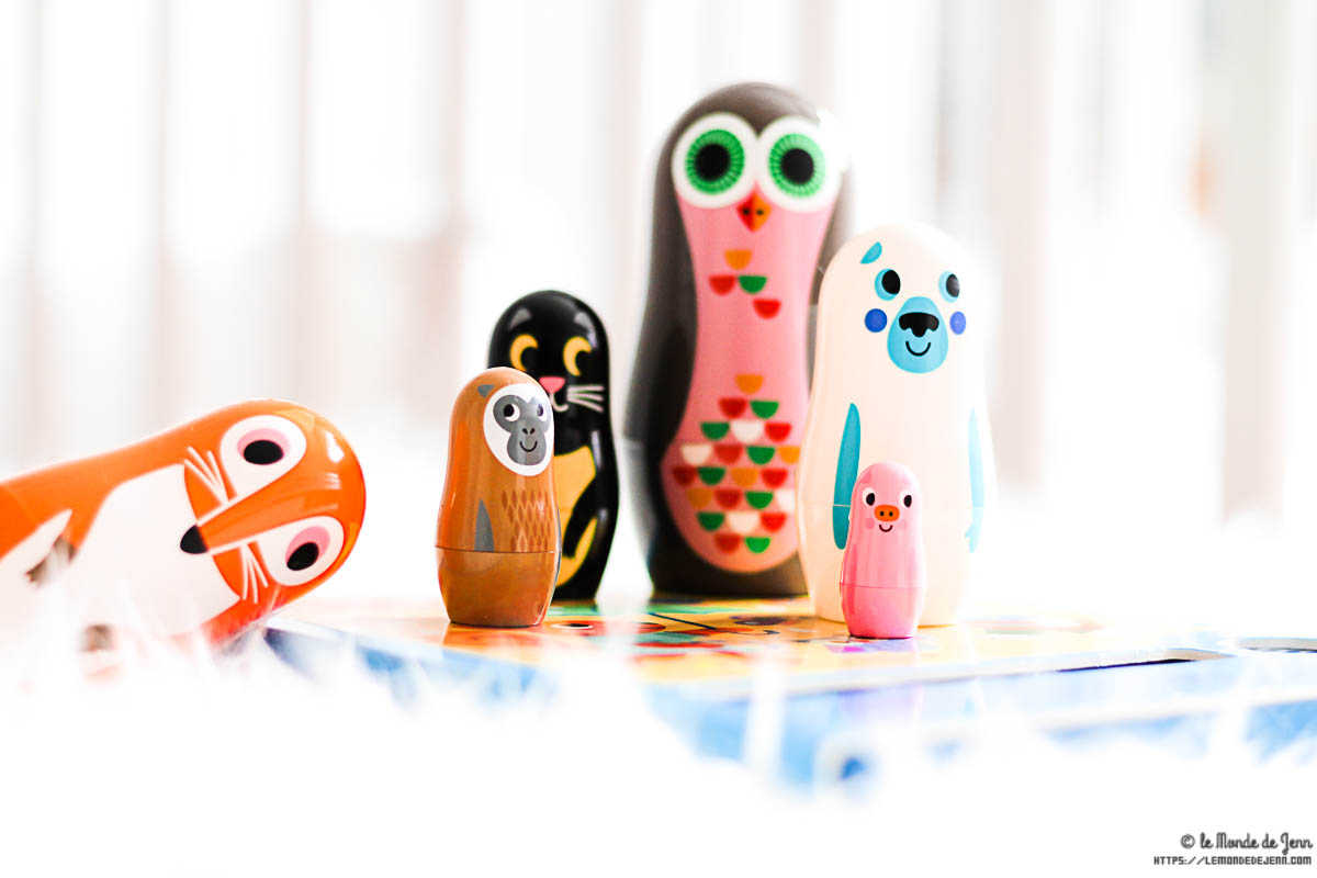 Des poupées russes rigolotes et colorées avec Les Petits Raffineurs