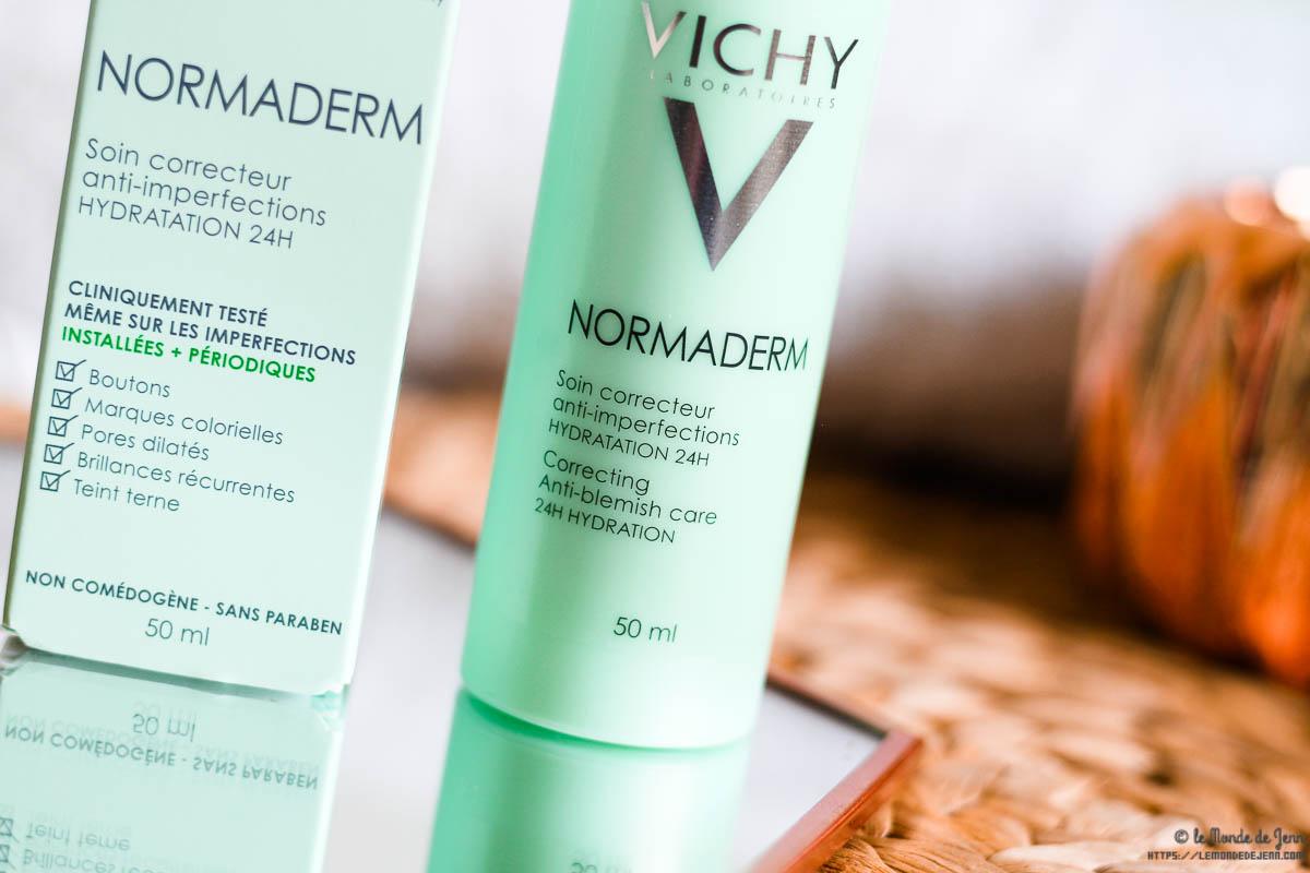 Normaderm de Vichy : les soins anti-imperfections pour peaux adultes