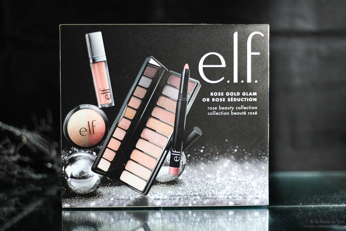 Rose Gold Glam : quand ELF réinvente les coffrets de Noël