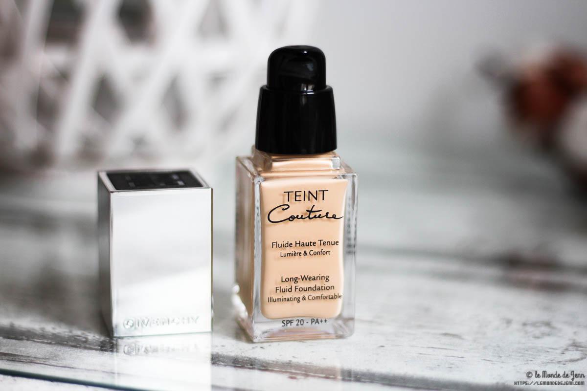 Teint Couture de Givenchy, ma déception