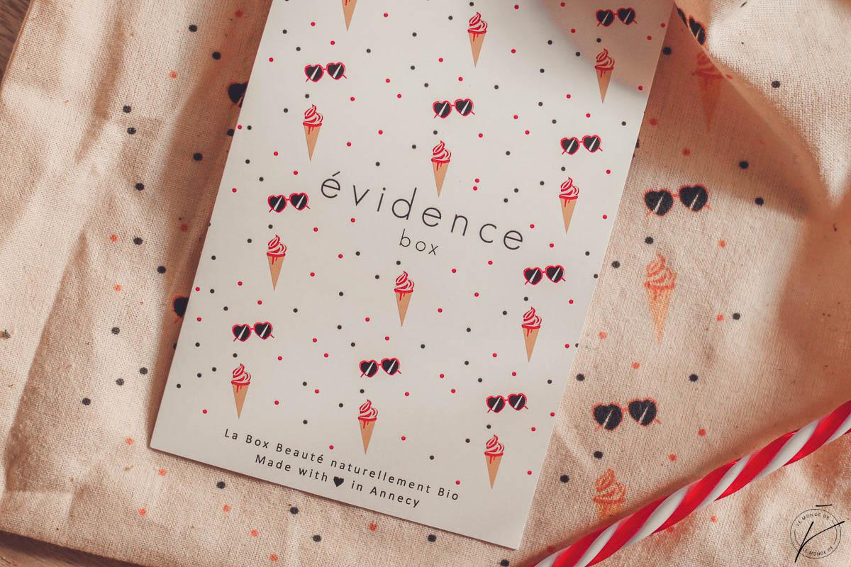 Box Evidence Juin 2018 : Glaces & Sunglasses