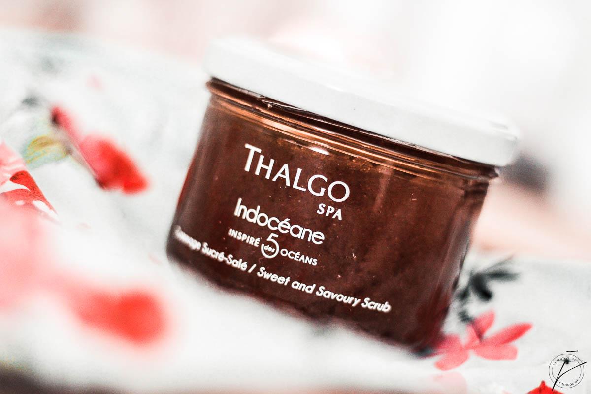 Mon voyage sensoriel avec Thalgo