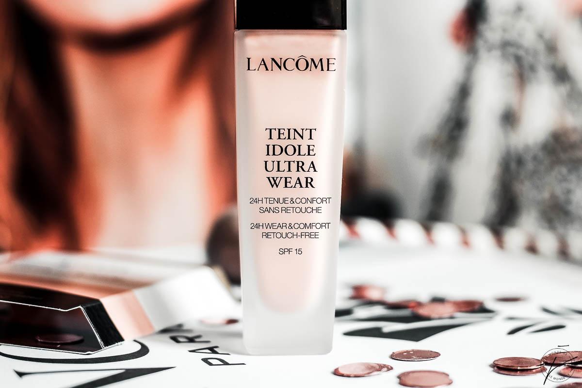 Teint Idole Ultra Wear de Lancôme, mon avis