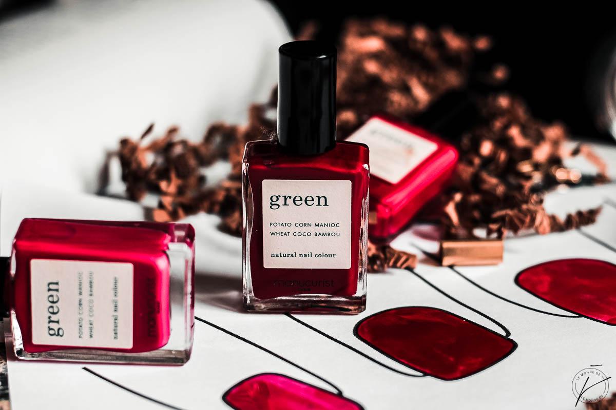 Les vernis Green de Manucurist : coup de cœur
