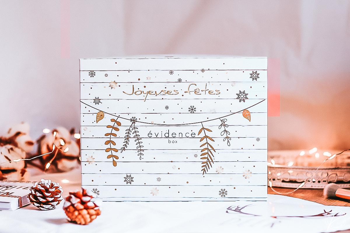 Box Evidence Décembre 2018 : Box de Noël 2018
