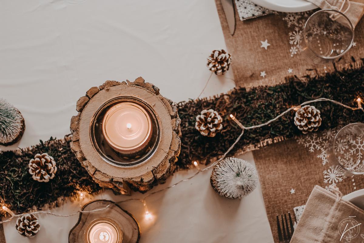Ma table de Noël, avec Vegaoo Party
