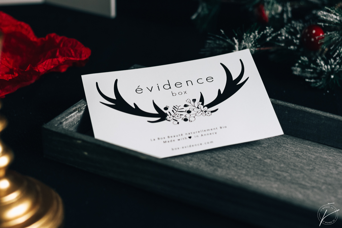 Box Evidence Novembre 2018 : Frimas D'Automne