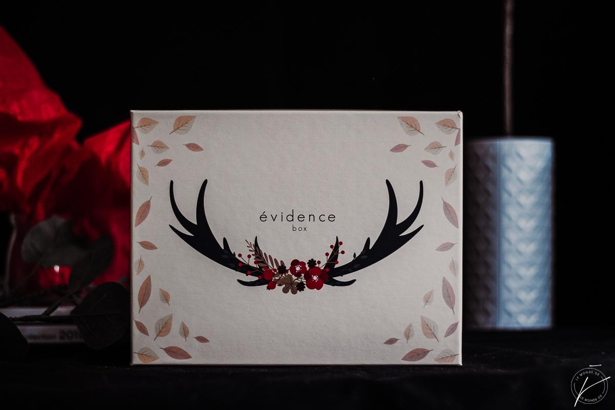 Box Evidence Octobre 2018 : Octobre !