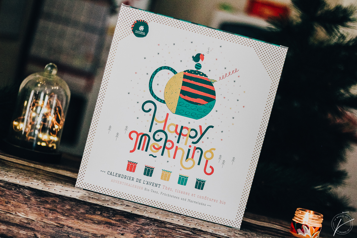 Calendrier de l'avent « Happy morning bio », Natures et Découvertes