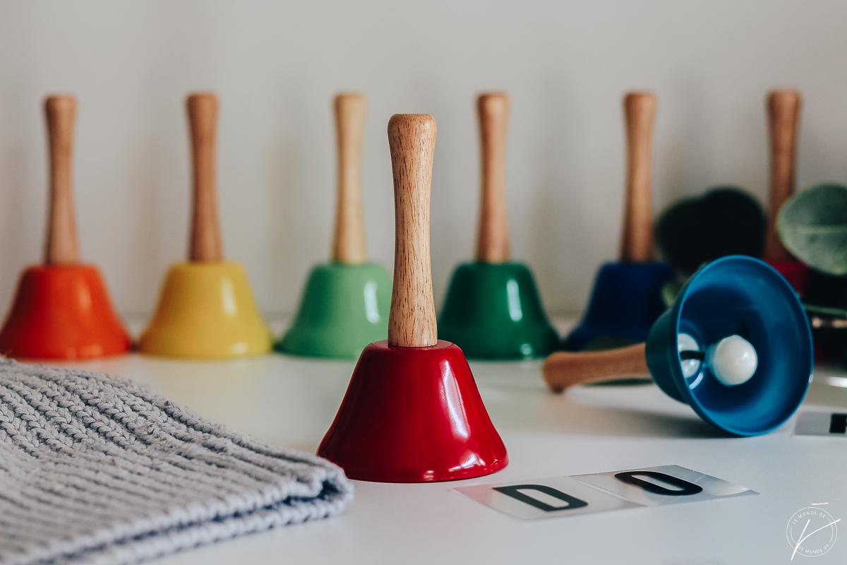 Cloches musicales Montessori, Natures et Découvertes