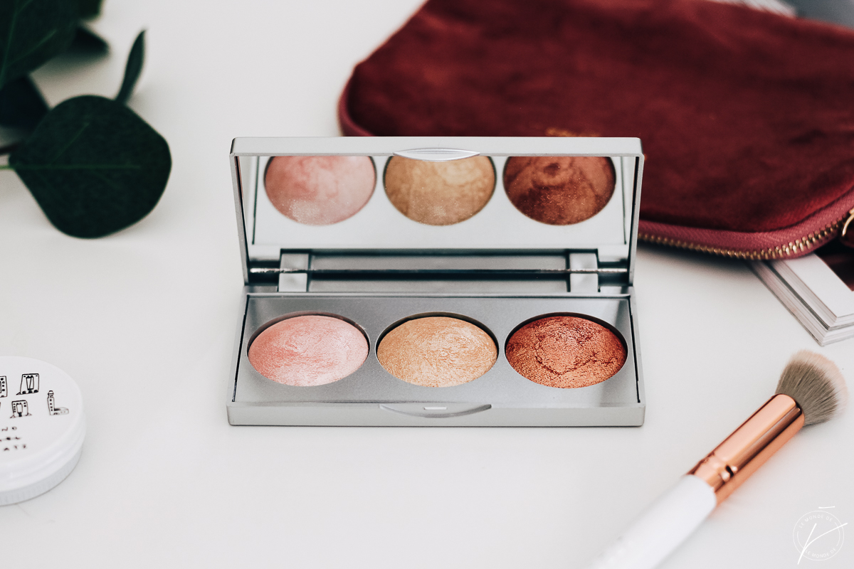 Strobing Highlighter Palette par Golden Rose, mon avis