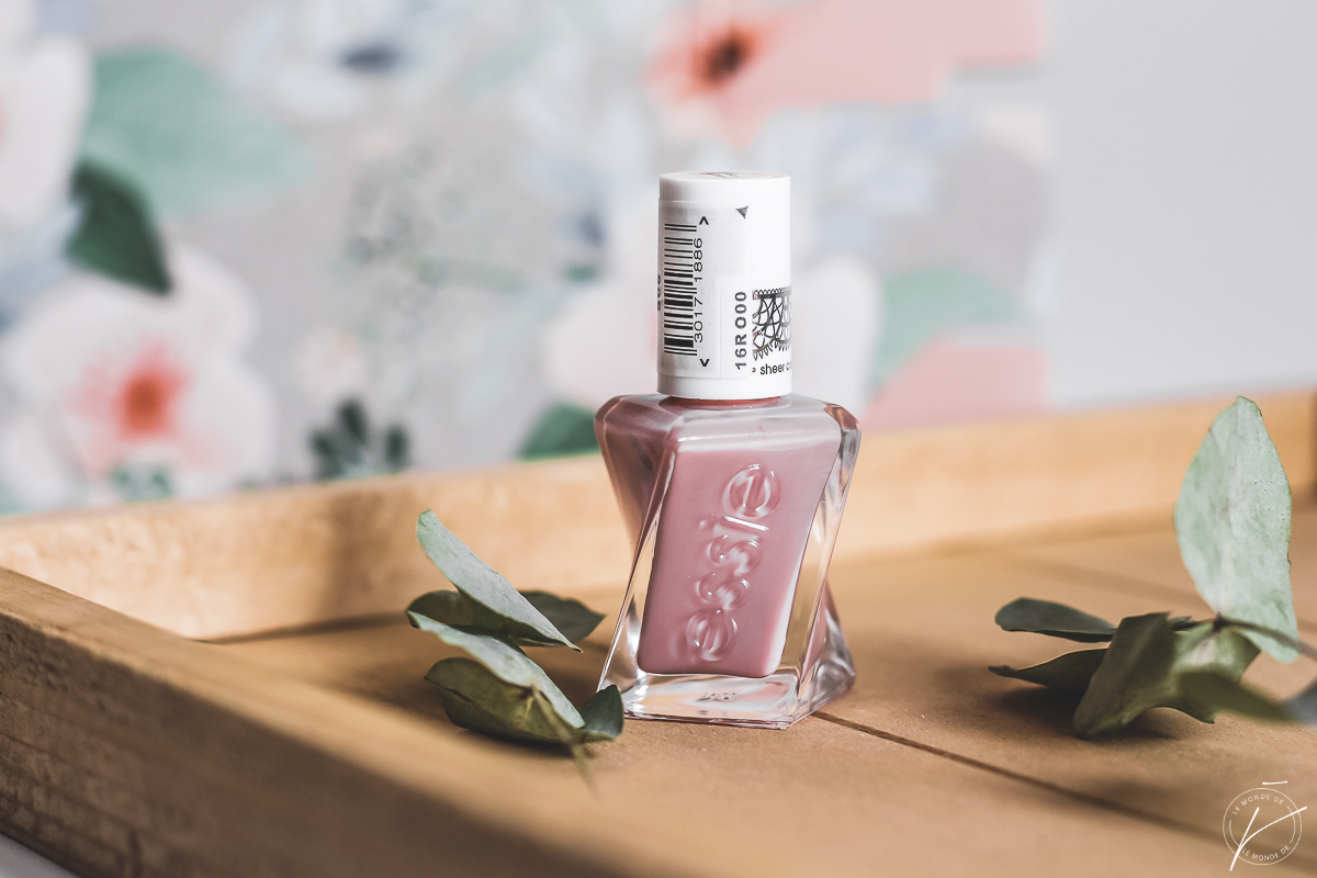 Essie Gel Couture Collection Sheer Silhouettes, mon avis