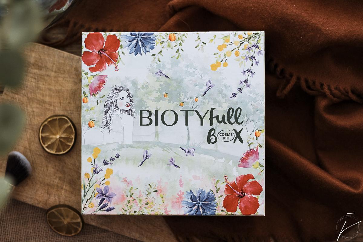 Biotyfull Box Avril 2019 : 100 % Cosmebio