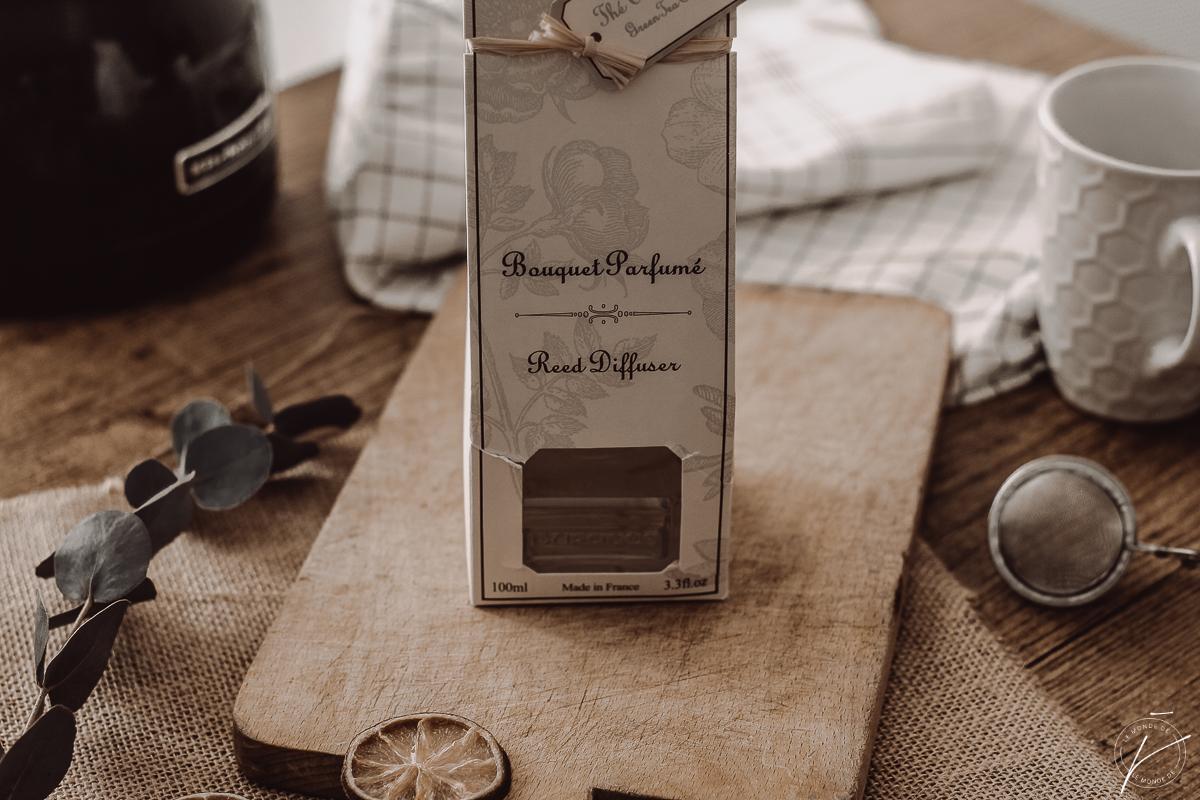 C'est l'heure du thé avec Durance (Bougie et bouquet parfumé Thé Vert Cologne)