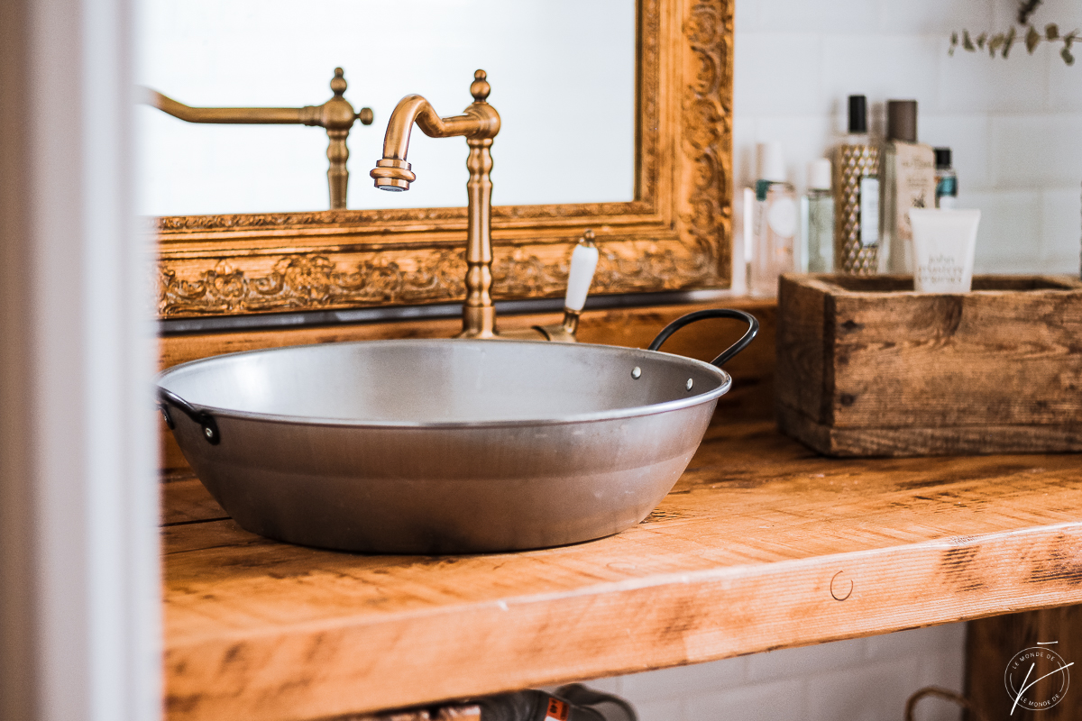 Notre salle de bain, en images