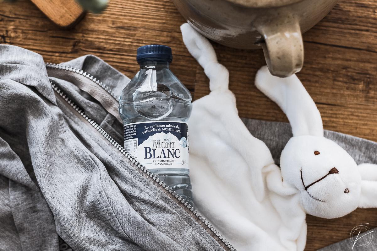 Box maman-bébé, autour de l'eau Mont Blanc