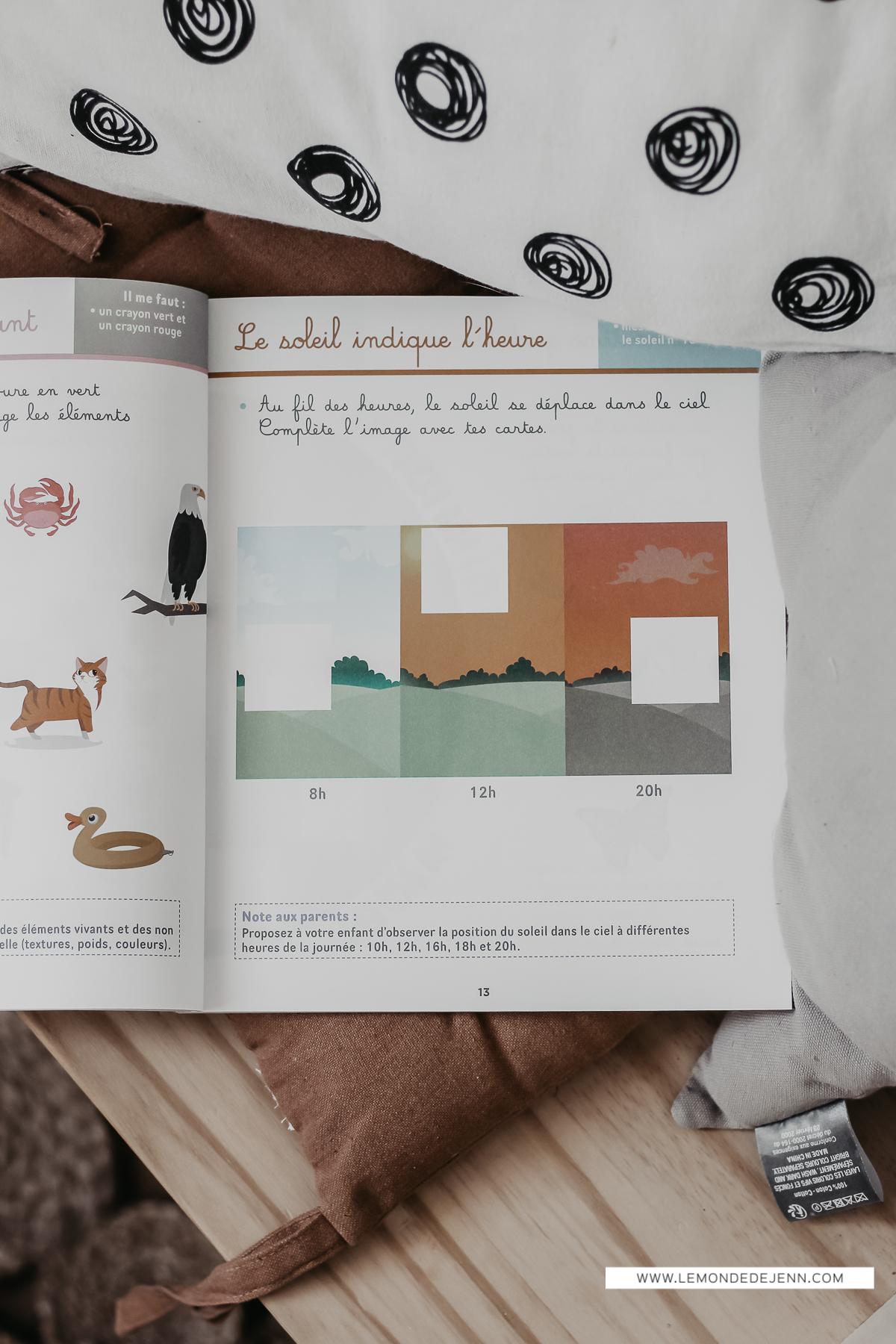 Mes Cahiers Ateliers Montessori : Spécial Découverte du Monde