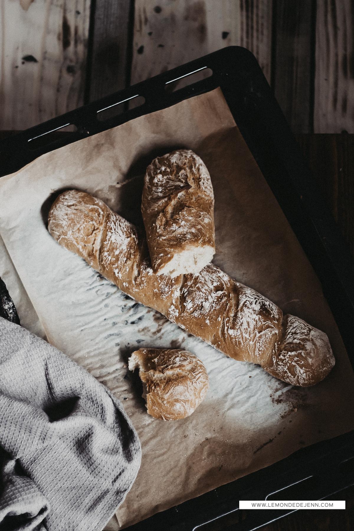 Ma recette de pain, sans robot, sans levure boulangère