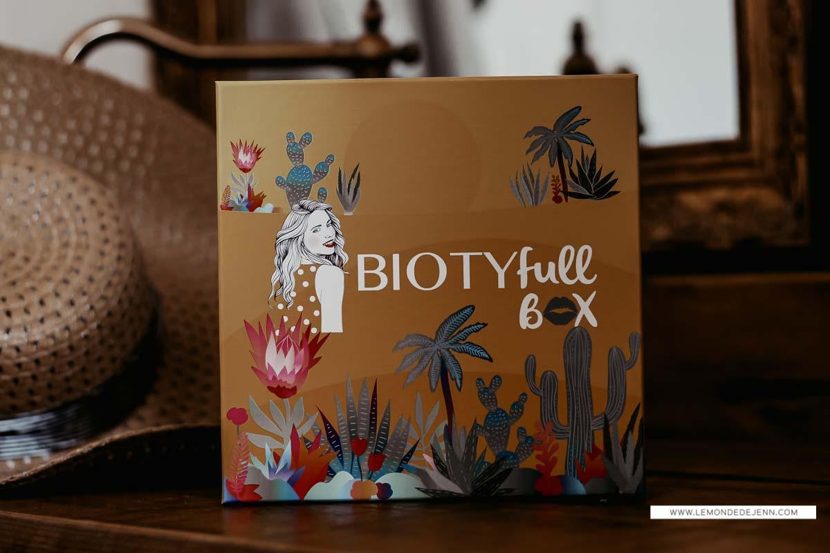 Biotyfull Box aout 2020 : 100 % Aloe Vera