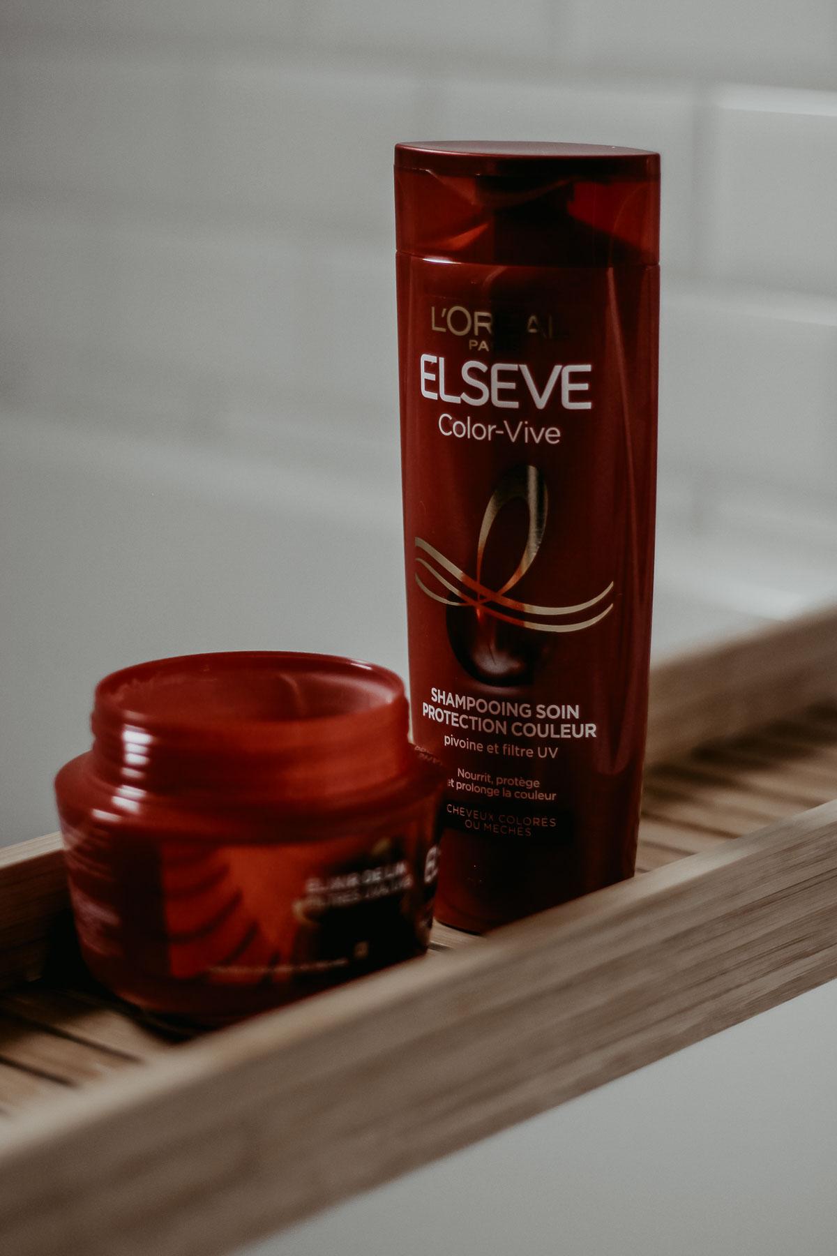 Ma routine pour cheveux colorés (blonde),avec Elsève Color-Vive