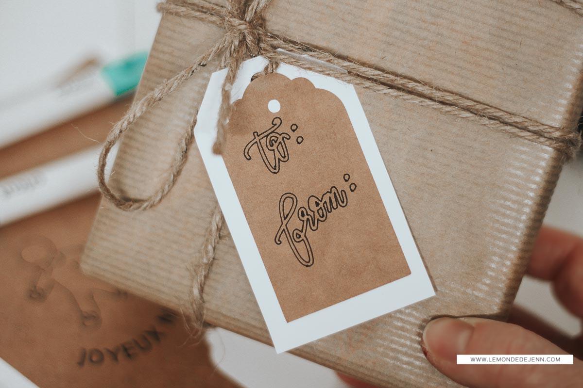 DIY : Mes étiquettes cadeaux, avec la Cricut Joy