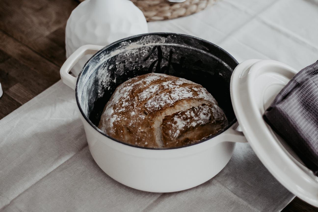Ma recette de pain, cuite dans ma cocotte en fonte Vintage Cuisine